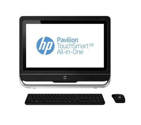 Pavilion TouchSmart 23-f261 AMD Quad Core-2.0GHz (4GB,1TB HDD) 23-Inch Windows 8 All-In-One Desktop