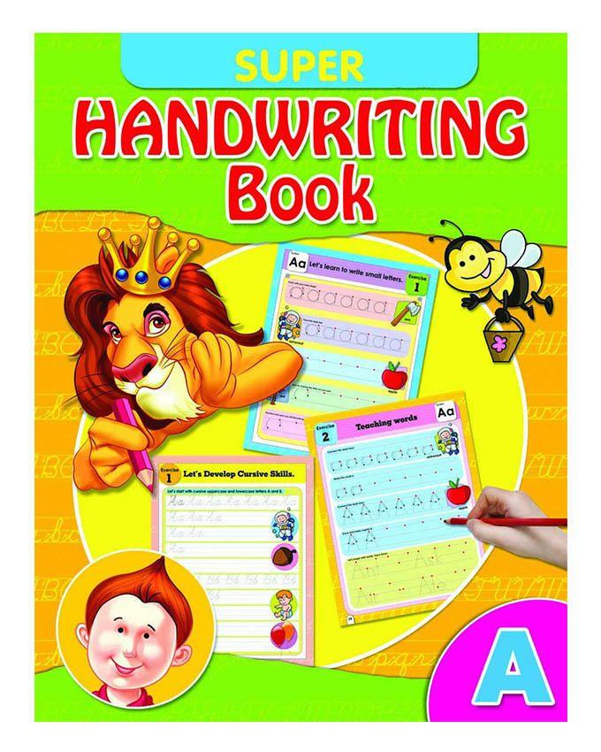 SUPER HANDWRITING BOOK  'A'