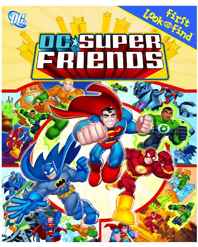 First Look and Find: DC Super Friends