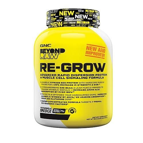 Beyond Raw Re-Grow Protein Formula Double Chocolate