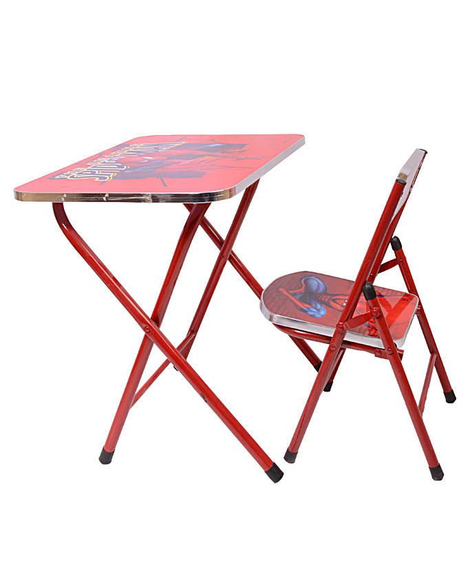 Spiderman Character Study Table & Chair