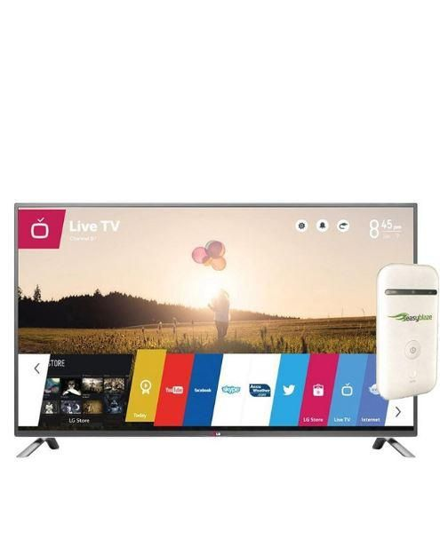 55 inch 55LB6520 Cinema 3D Smart TV + Free Etisalat Router With 3 Months Data Plan