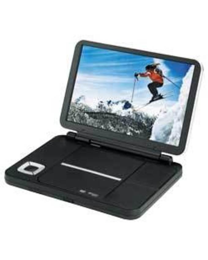 "Portable DVD Player /TV Player - 9.8"" Screen"
