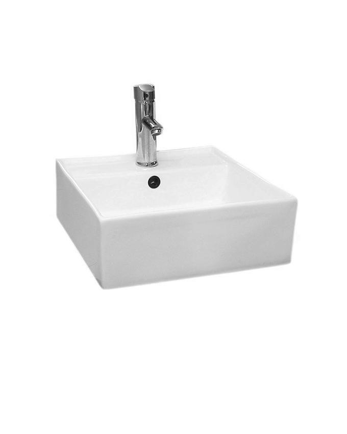Art Hanging Wash Hand Basin-White