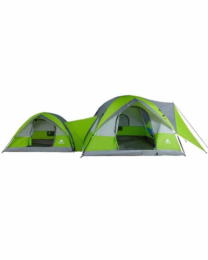 Ozark Trail 2 Dome Connection Camping Tent For 8 People