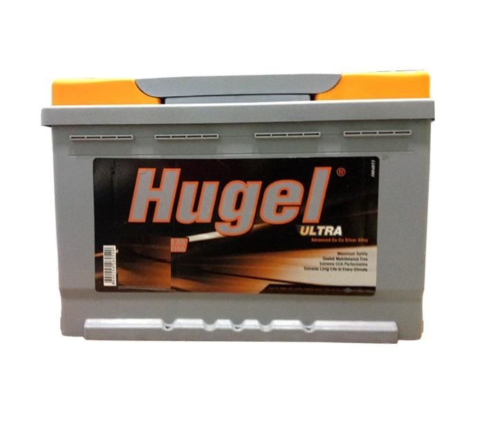 60AH DIN/Flat Car Battery