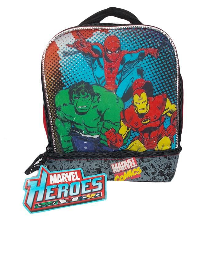 Heroes Insulated Lunch Bag