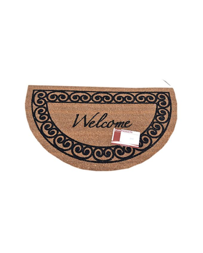 Welcome Coconut Footmat - Brown