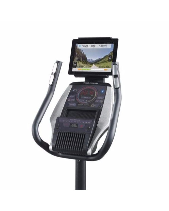 Proform Power Sensitive 7 0 Exercise Bike: Proform Proform 225 CSX Exercise Bike With Tablet Holder
