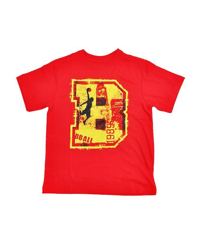 Boy's Graphic Tee - Red