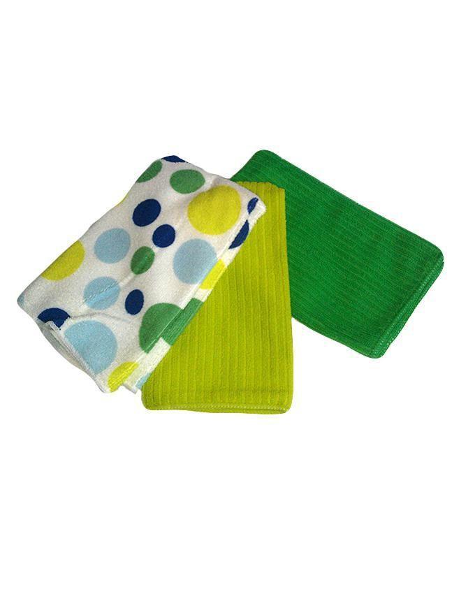 3pcs Microfibre Kitchen Towels - Multicolour