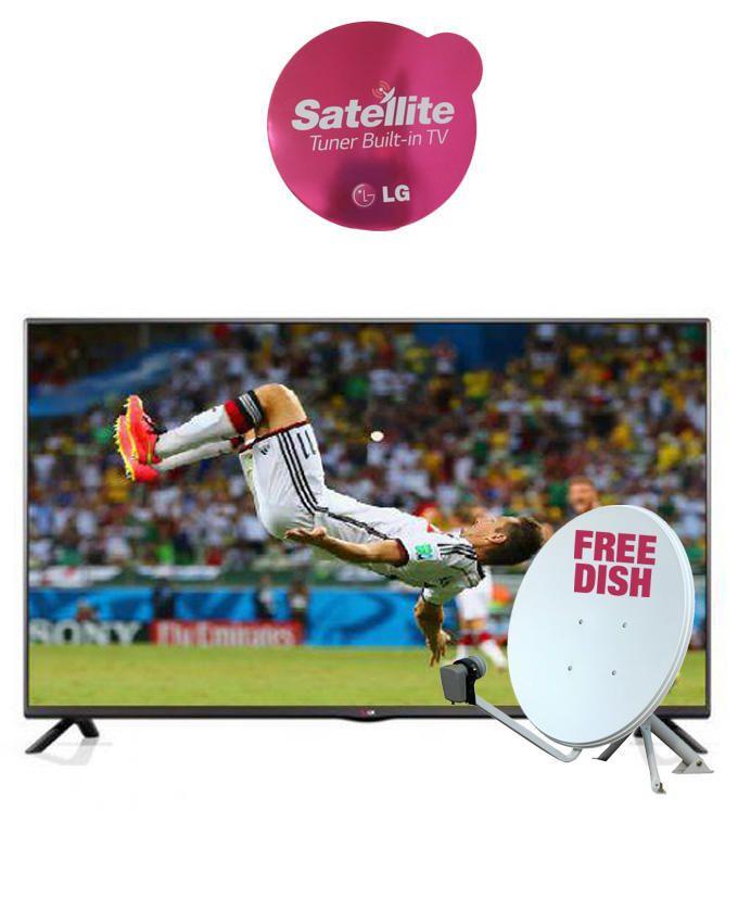 32 inch 32LB552  Satelite LED TV with IPS Panel + Free Dish