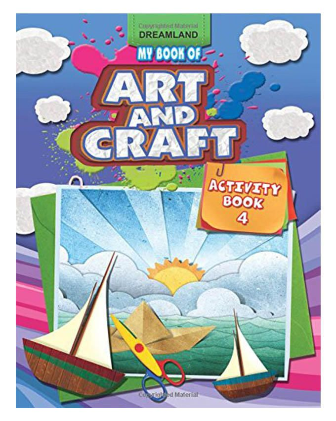 Dreamland My Book Of Art And Craft Activity Book 4
