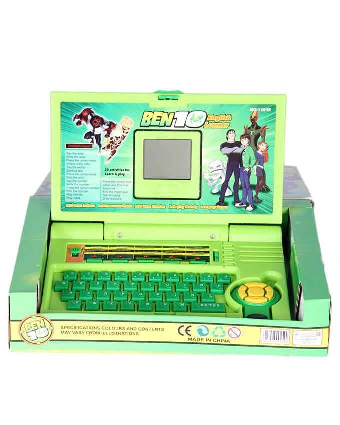Ben 10 English Learner Laptop