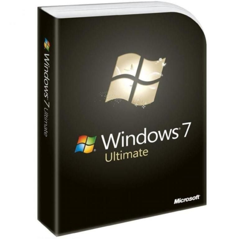 Windows 7 Ultimate English DVD Box Glc-01077