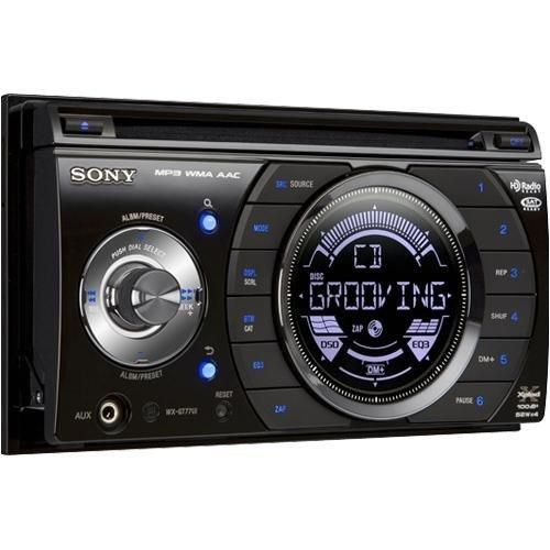 WXGT77UI Double Din CD Player