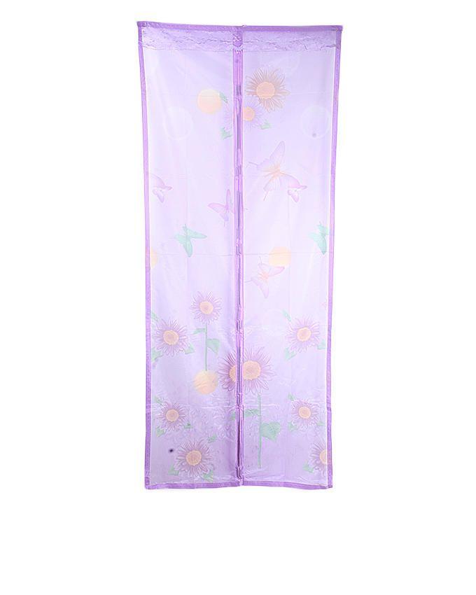 Magnetic Door Mesh - 100cm * 210cm (Purple)