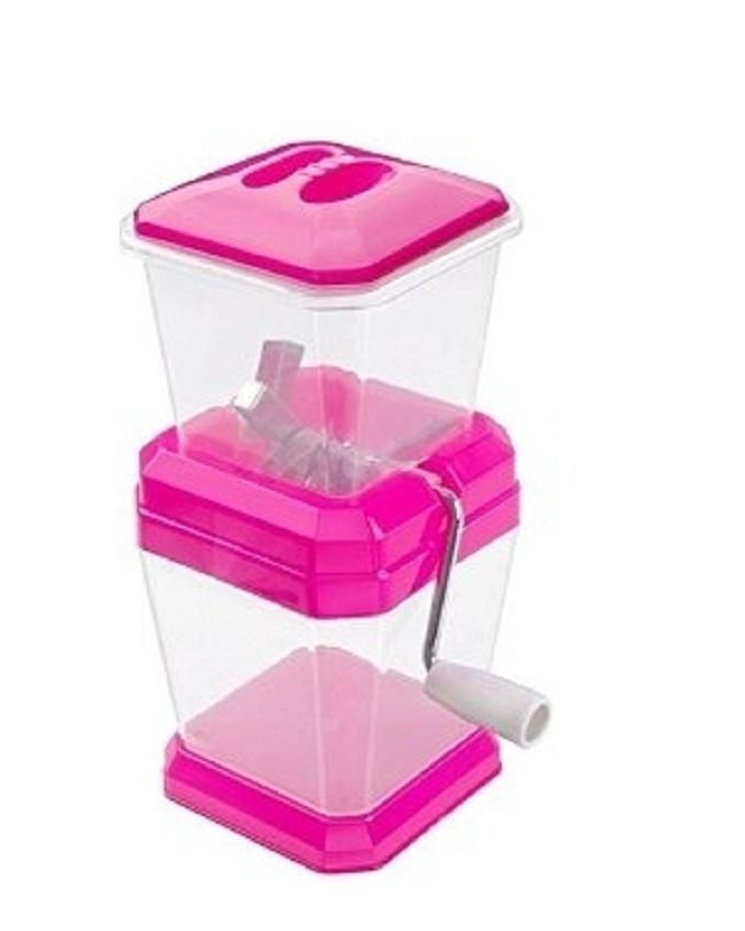 Onion and Vegetable Chopper - White/Pink