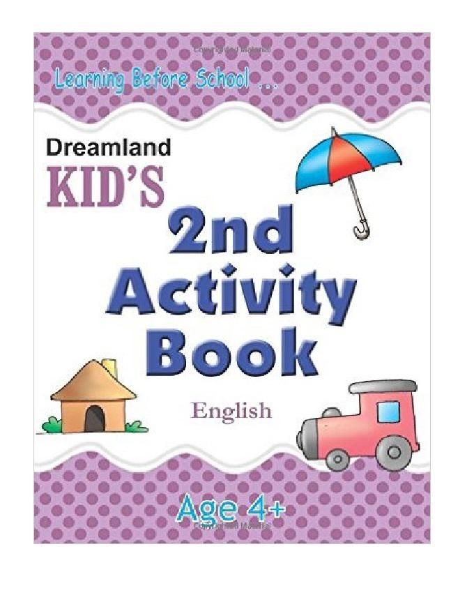 Kid's 2nd Activity Book - ENGLISH AGES 4 +