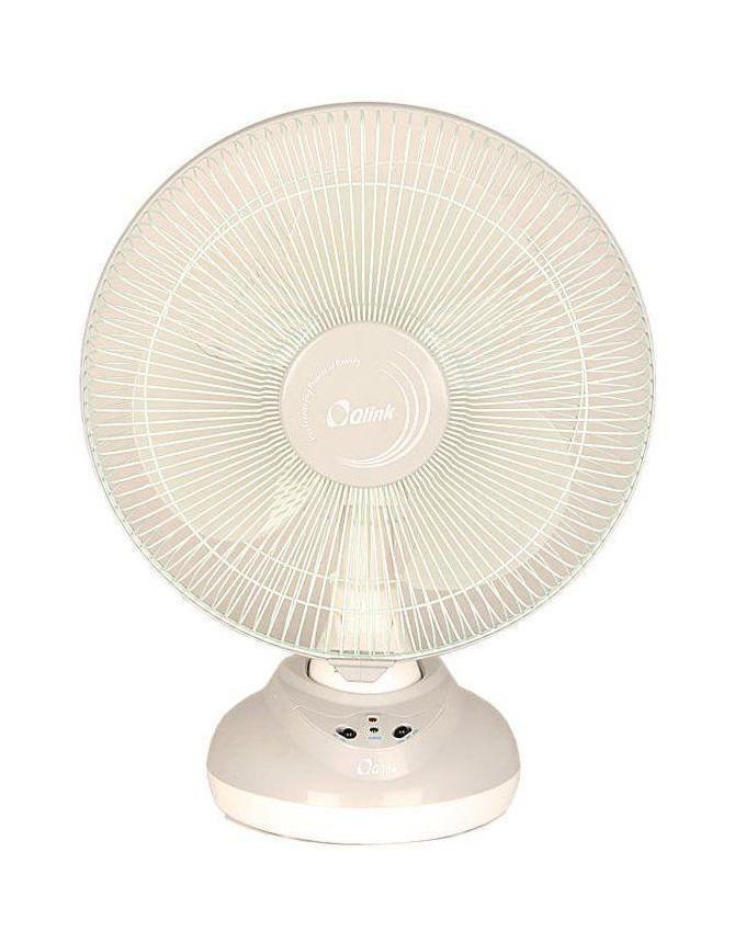 12inch Table Top Rechargeable Fan