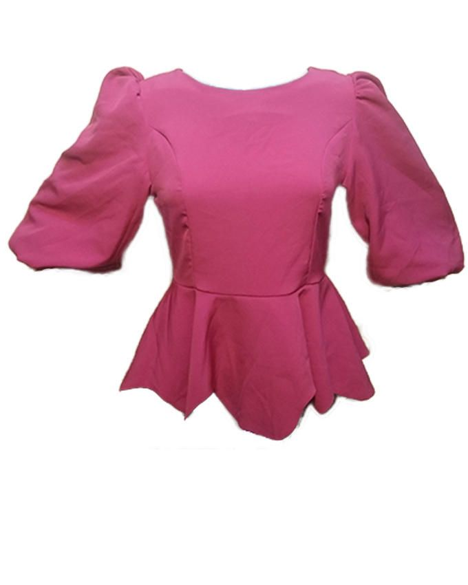 Batwing Top -  Pink