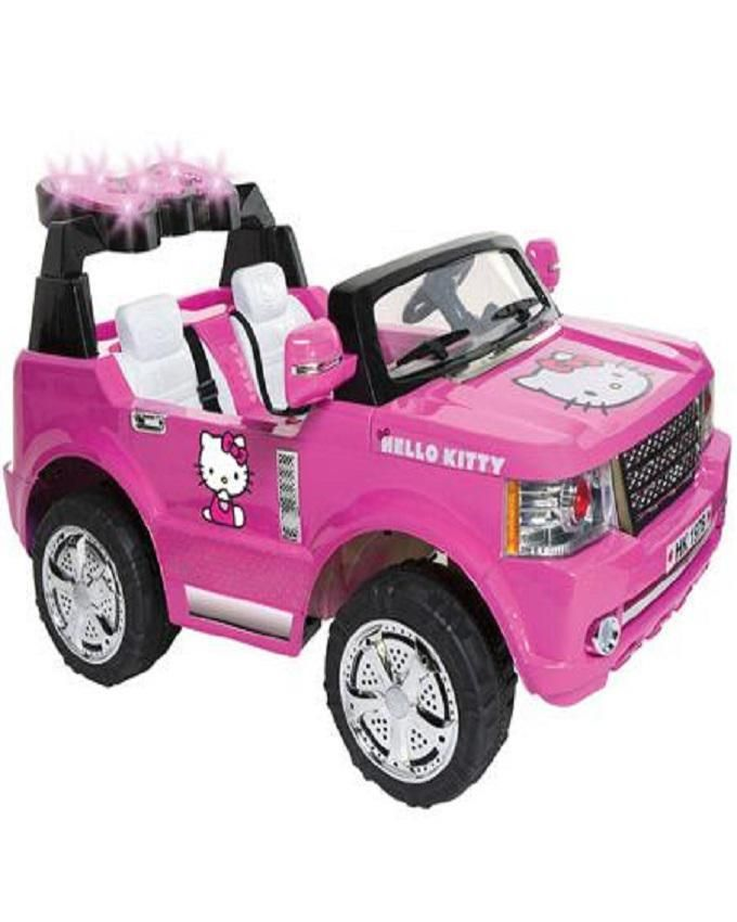 SUV 12-Volt Battery-Powered Ride-On