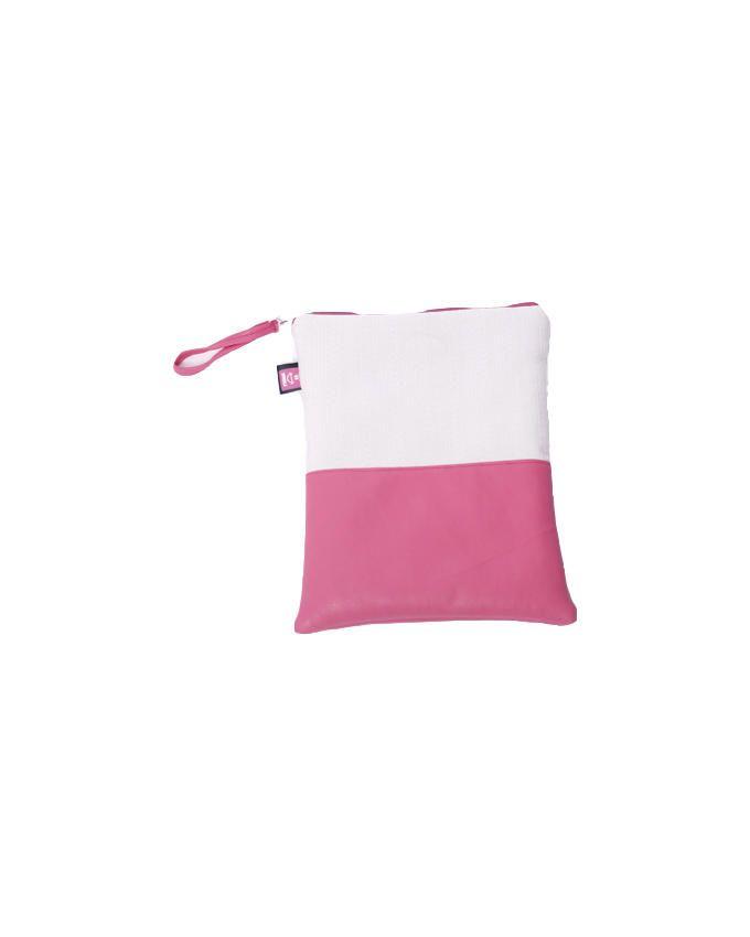 Anti Crack Tablet Case - Pink/White