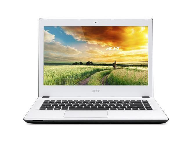 Aspire E5-473 Intel Core i3 (4GB,1TB HDD) 14-Inch Windows 8 Laptop - White