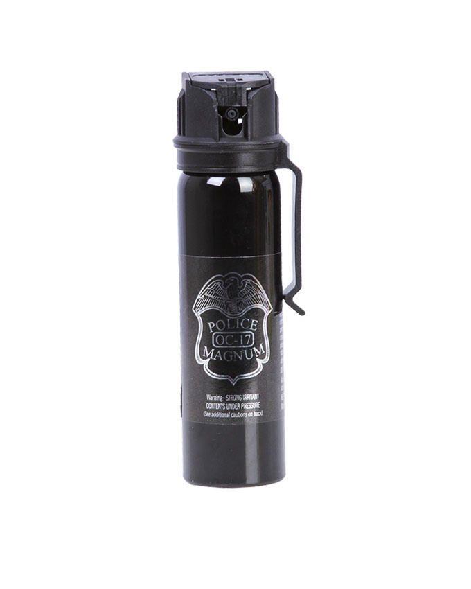Police Magnum Mace Pepper Spray with Belt Clip
