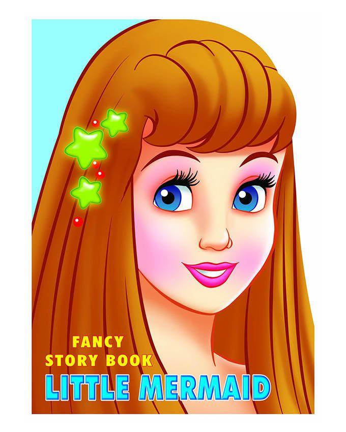 Fancy Story Board Book-Little Mermaid