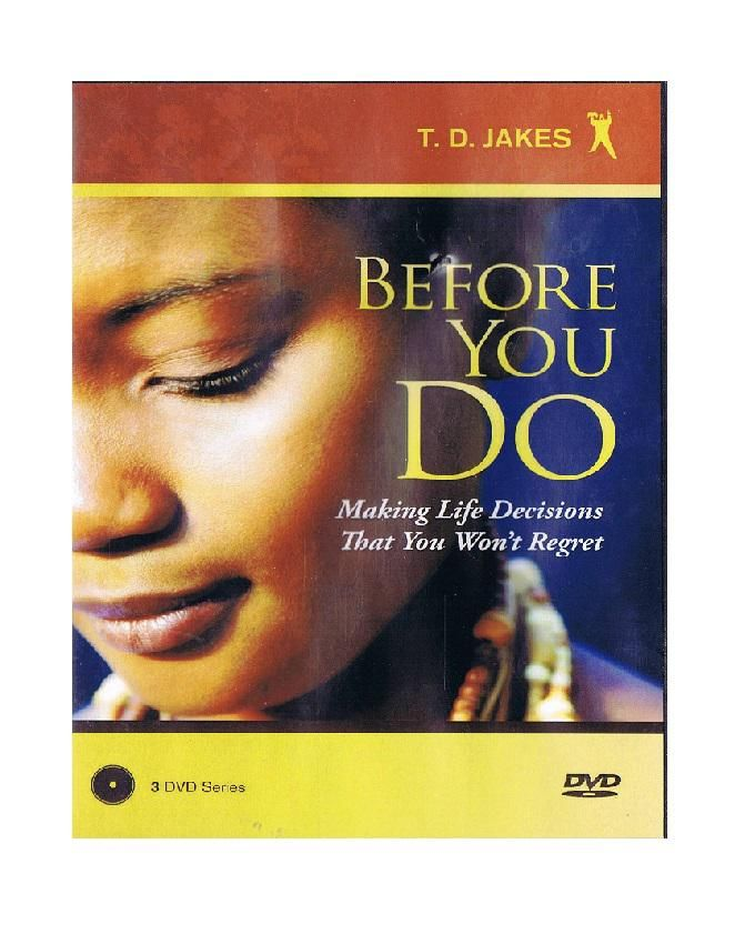 Before You Do ( 3 DVD SERIES)