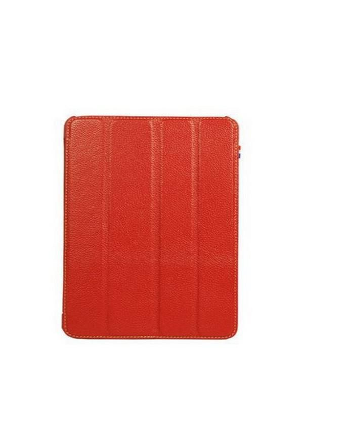 Leather Case For iPad 2/3/4 - Red
