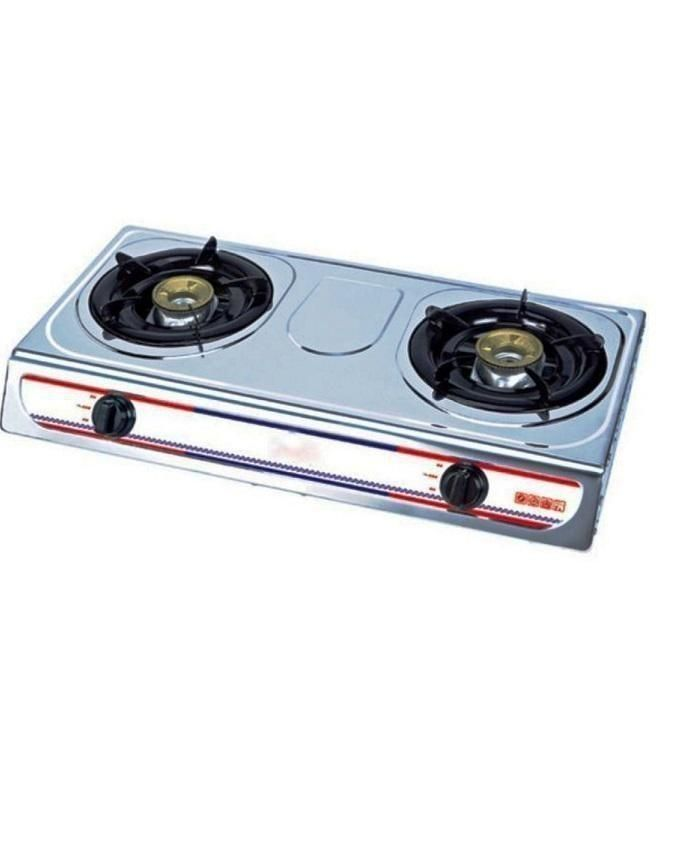 Eurosonic Table Top Gas Cooker With 2 Burners Buy Online