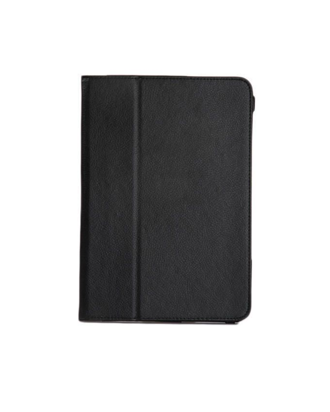 Leather Flip Case For Samsung Galaxy Tab S - Black
