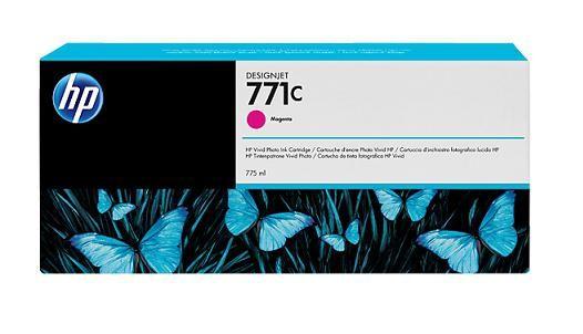 771C 775-ml Magenta DesignJet Ink Cartridge - B6Y09A