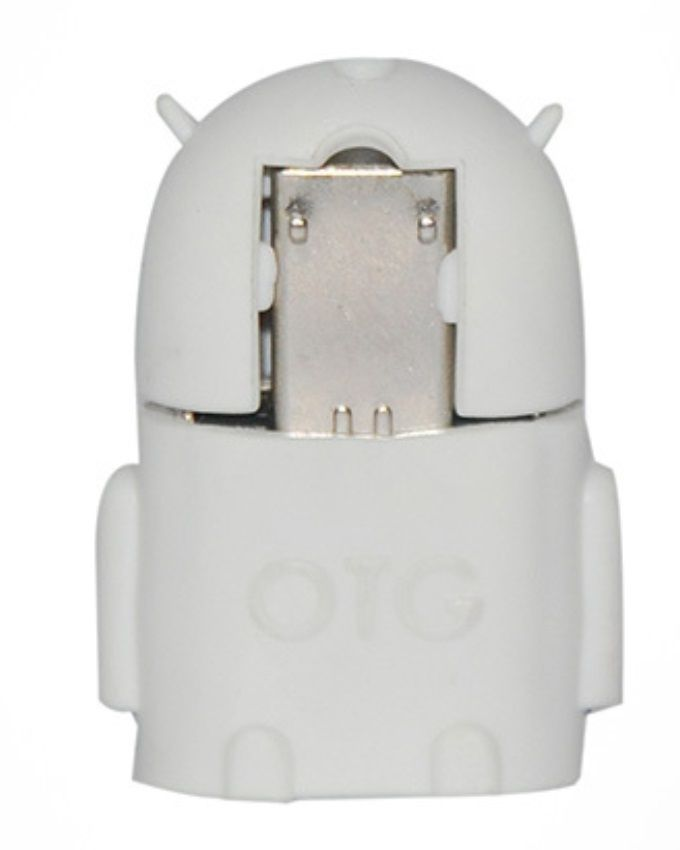 OTG Android Robot Shaped Micro USB Adapter