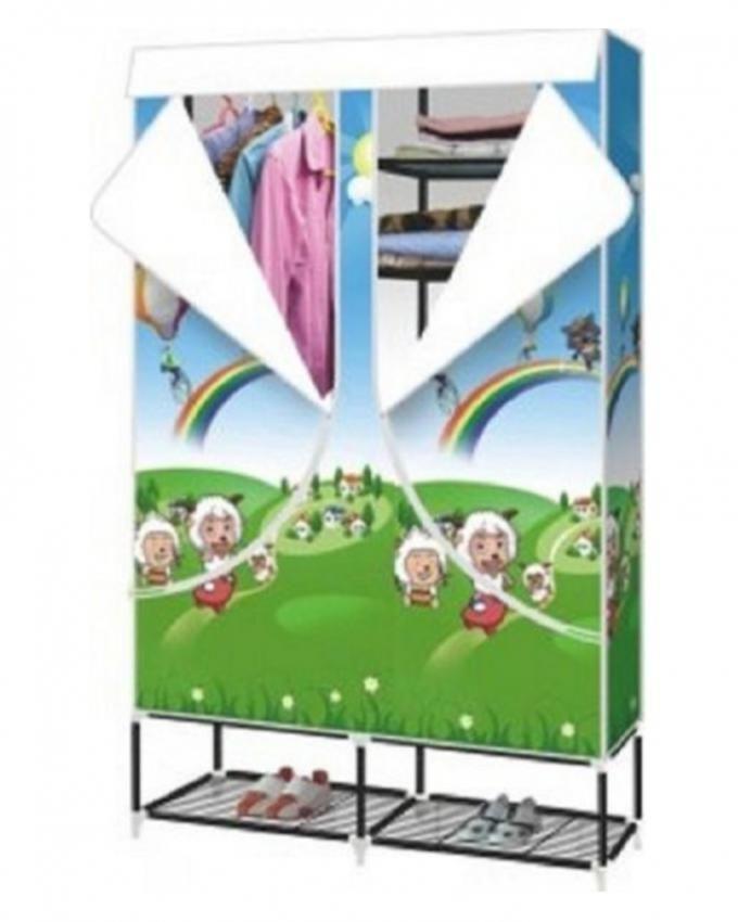 Detachable Folding Portable Wardrobe