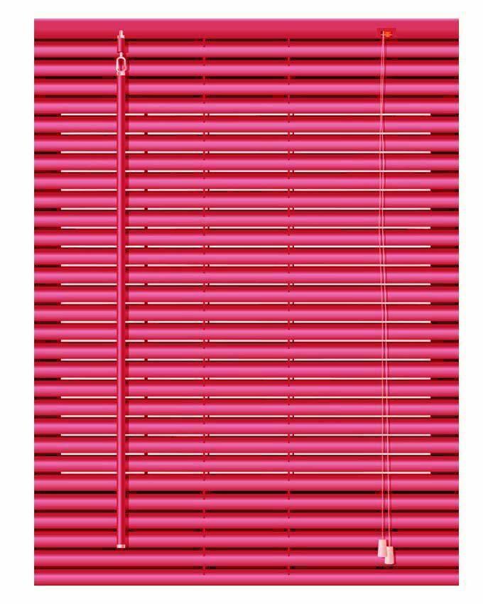 FM Aluminium Venetian Window Blinds Red Lagos Only