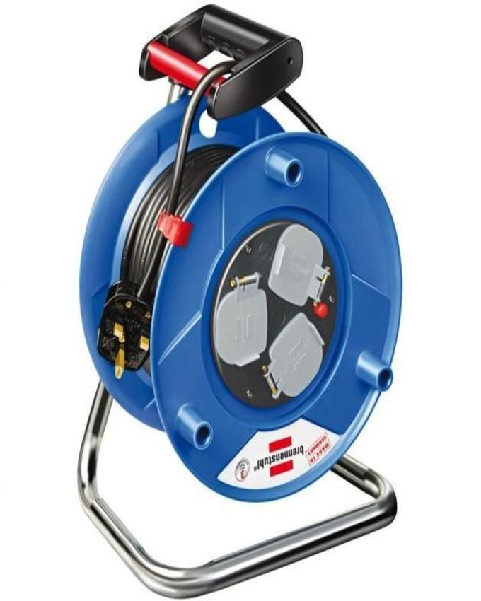 240V 50mtr Heavy Duty Cable Reel (plastic body)