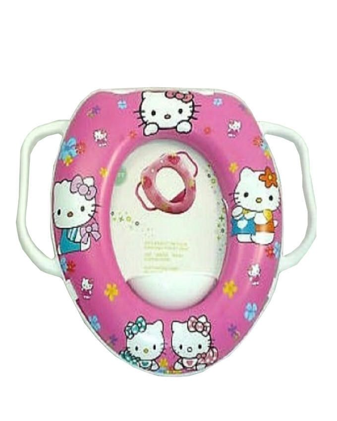 Kiddies Soft Baby Potty Seat with Handle