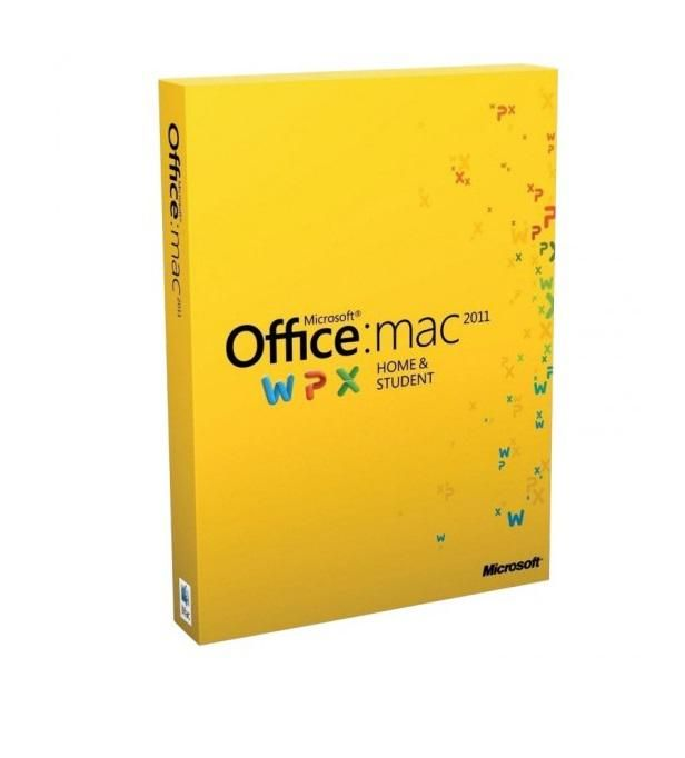 Office Mac Home and Student 2011 - GZA-00273