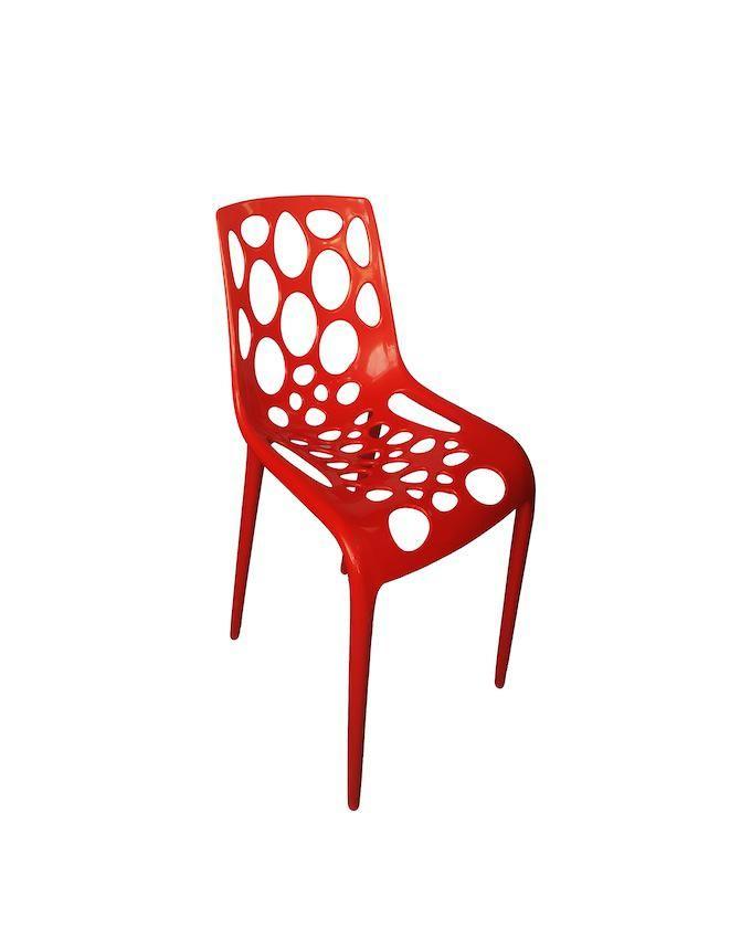 Vegas Chair Red