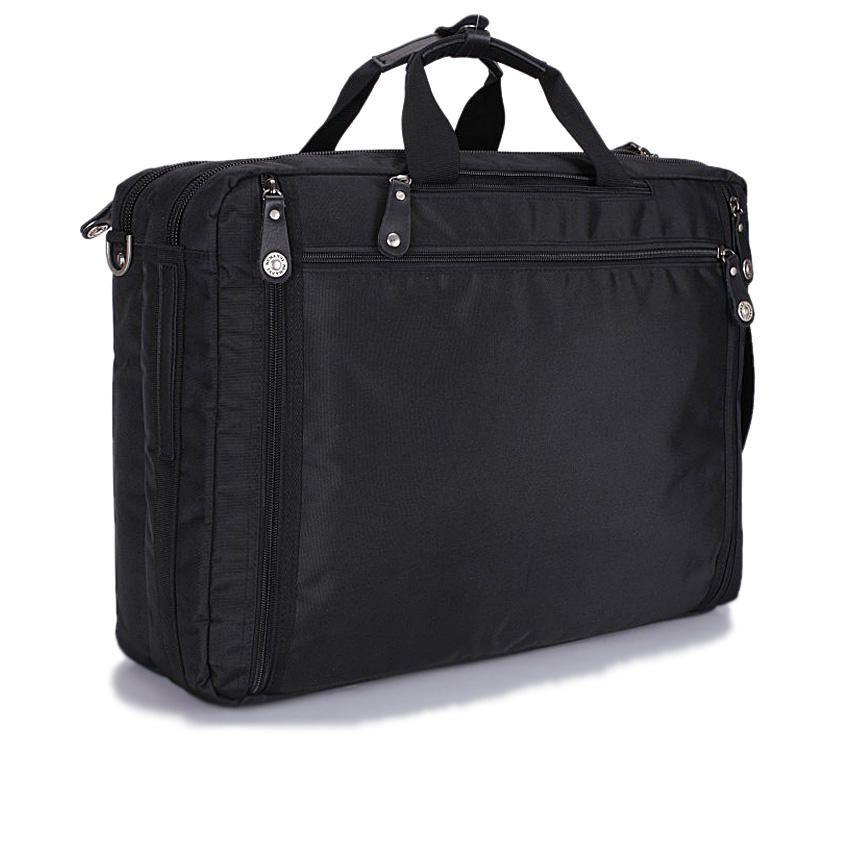 """PW 355 14/15"""" Laptop Bag 5-In-1-Black"""
