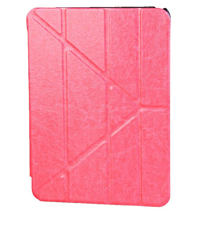 10.1-Inch Leather Flip Case for Galaxy Tab 4 Tablet - Pink
