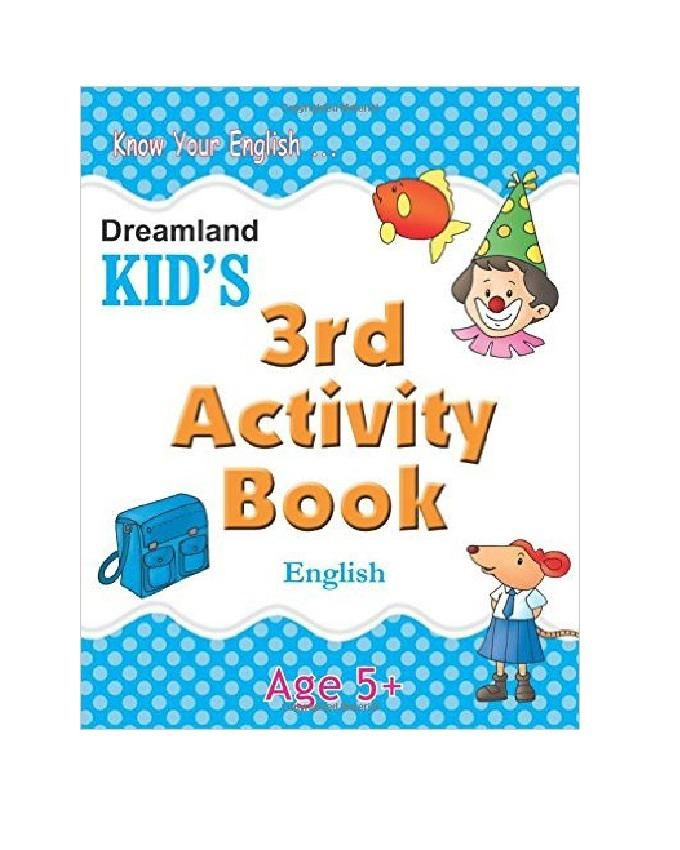 KID'S 3RD ACTIVITY BOOK - ENGLISH - AGE 5 +