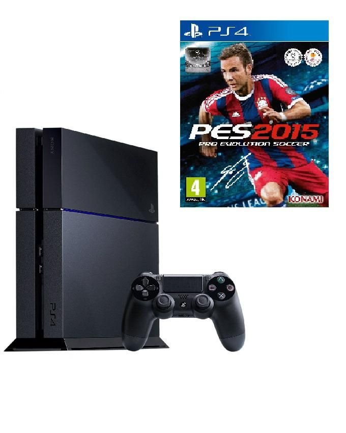 PS4 500GB Console + PES 2015