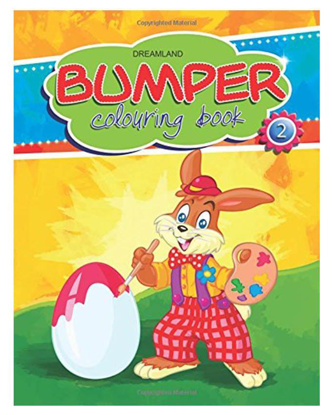 Bumper Colouring Book - 2