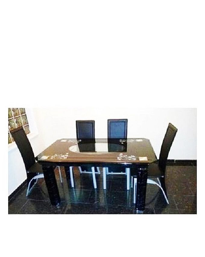 Universal Executive Dining Set With 4 Dining Chairs