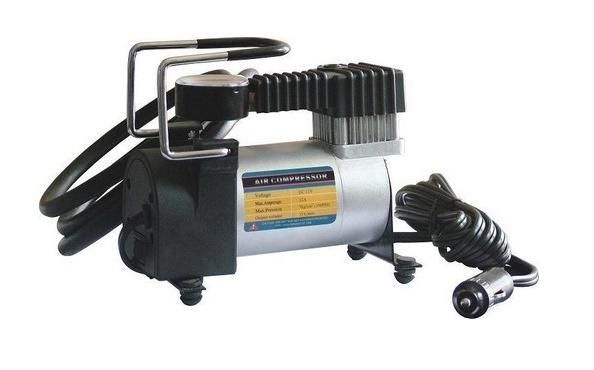12V Electric Car Metal Air Compressor Tyre Pump