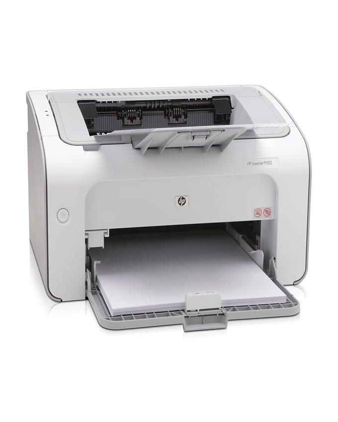 LaserJet Pro P1102 Printer - White
